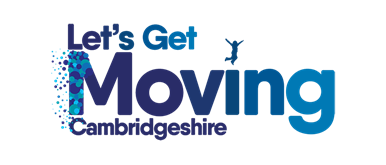 Let's Get Moving Cambridgeshire logo